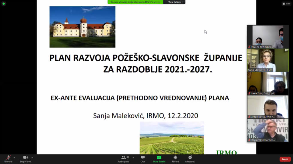 Plan razvoja Požeško-slavonske županije za razdoblje 2021.-2027.