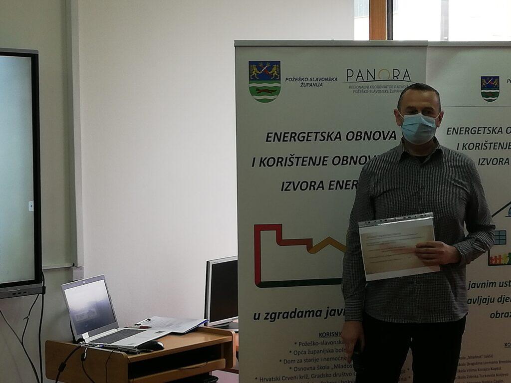 Stručni suradnik Regionalnog koordinatora razvoja Požeško-slavonske županije, Anto Baltić