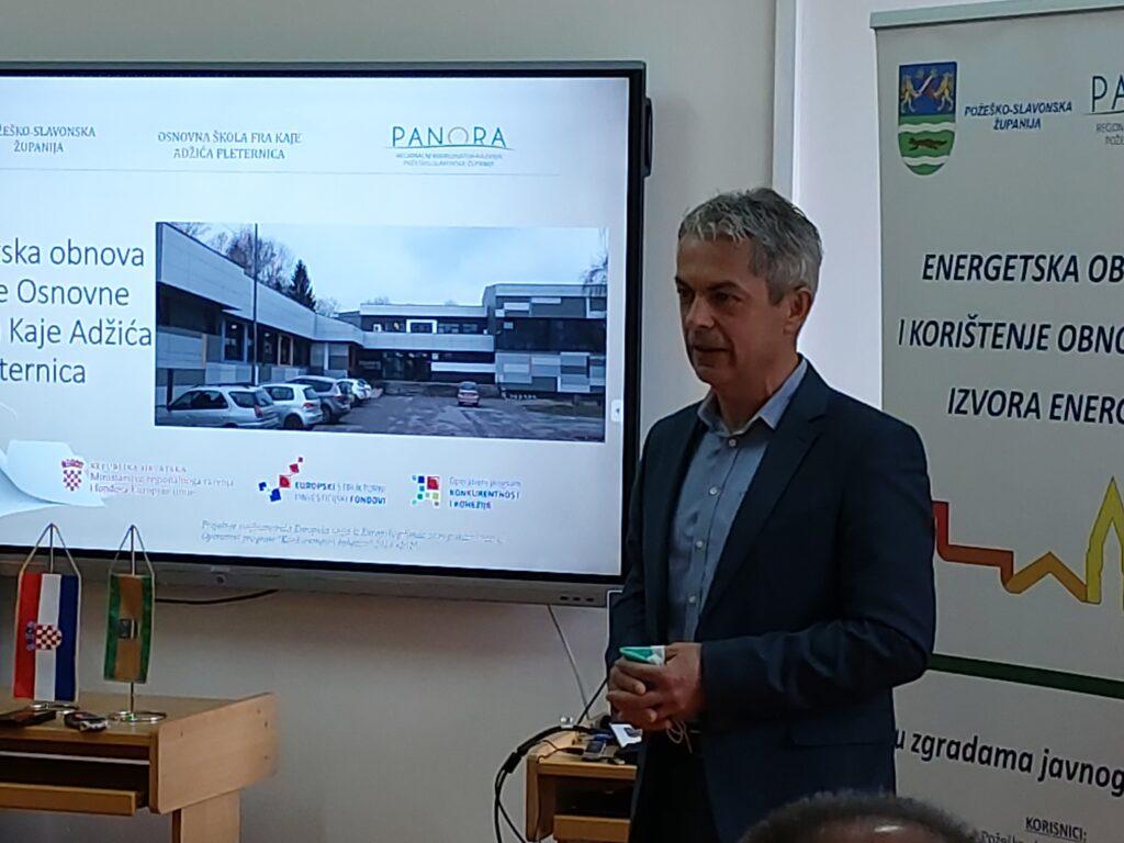 Pomoćnik ministrice regionalnoga razvoja i fondova Europske unije, Davor Huška