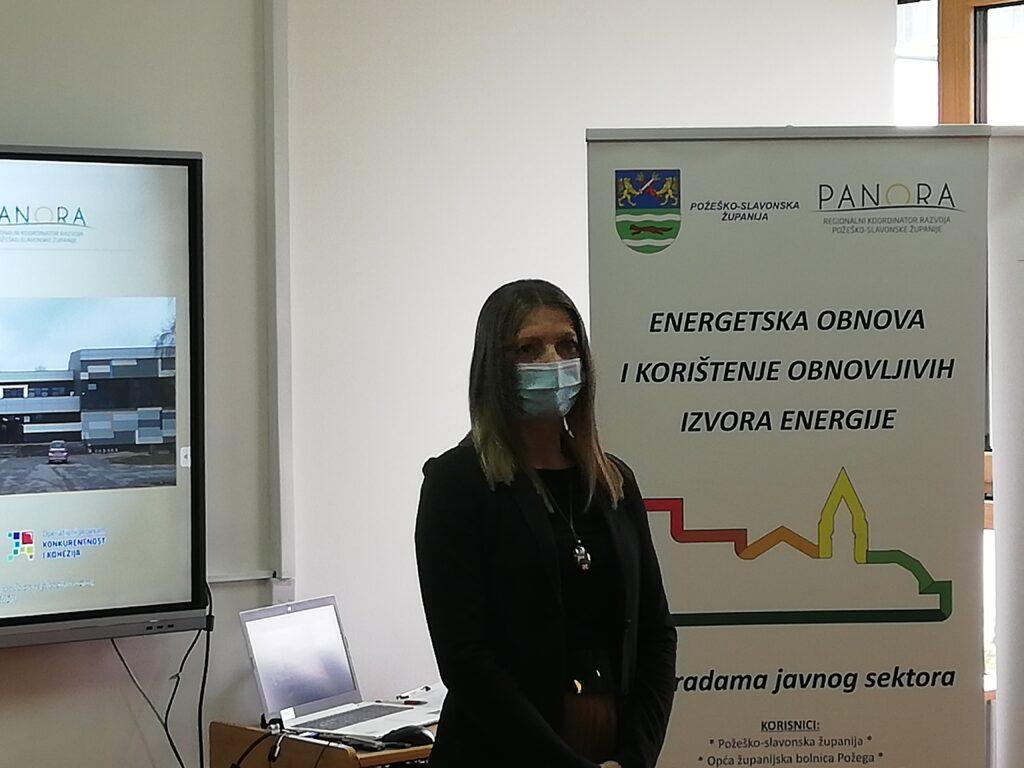 Ravnateljica Regionalnog koordinatora razvoja Požeško-slavonske županije, Senka Horvat