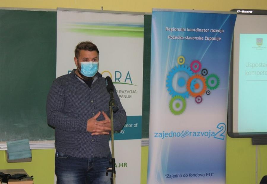 Pomoćnik ravnateljice Regionalnog koordinatora razvoja Požeško-slavonske županije, dr. sc. Anton Devčić