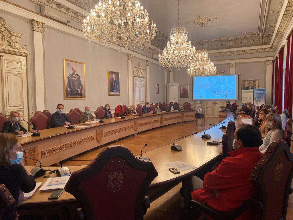 Radni sastanak Županijskog tima za mapiranje potreba u zdravstvu