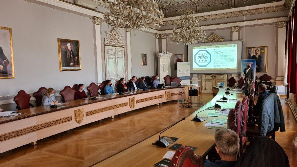 Predavanje u Velikoj vijećnici Požeško-slavonske županije