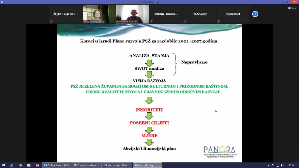 Prezentacija Razrade strateškog okvira, Zdenko Kolarić