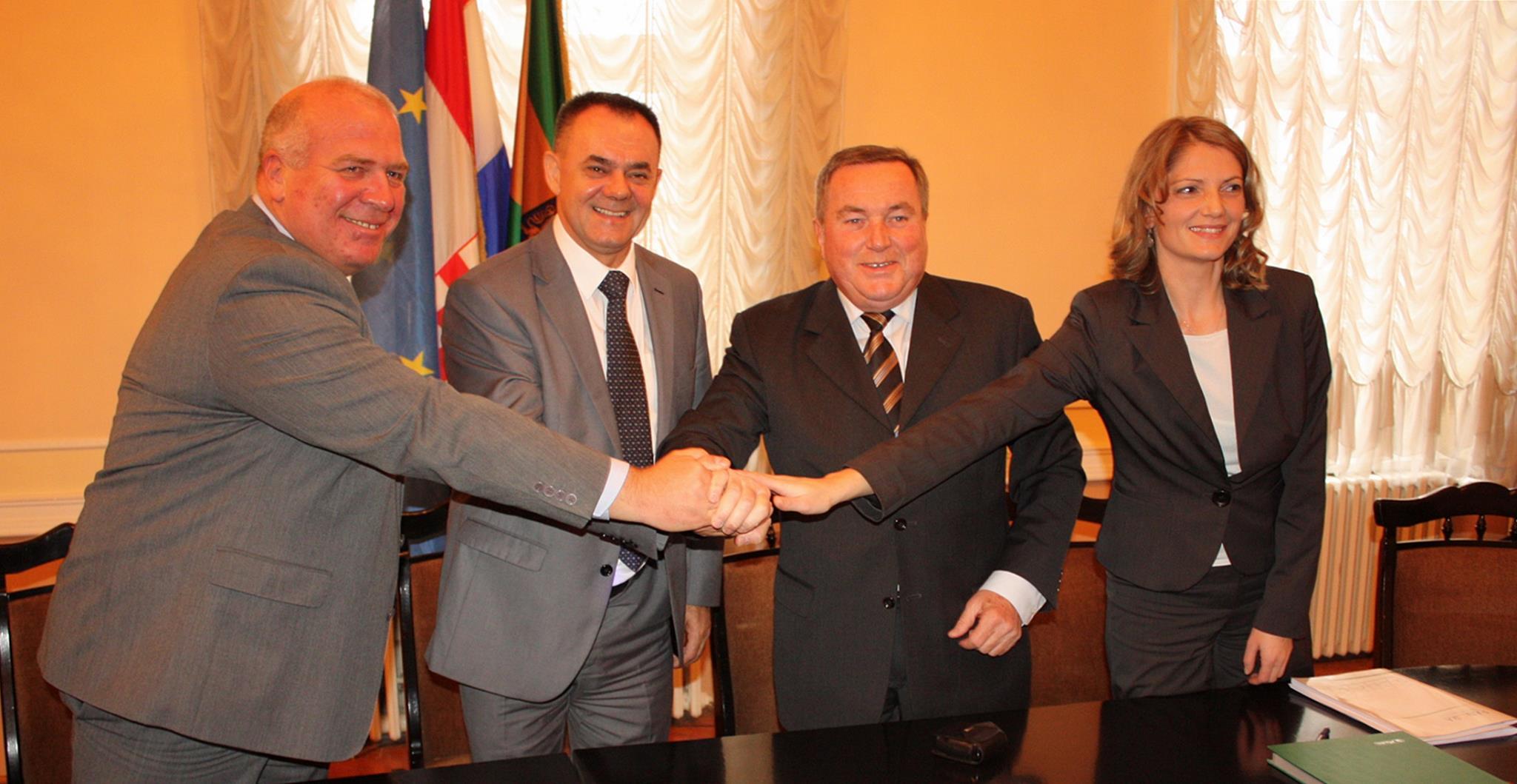 """Potpisan Sporazum o partnerstvu u provedbi projekta """"Obnova i revitalizacija povijesnih građevina KURSALON, WANDELBAHN i PERIVOJ – zaštićenih kulturnih dobara RH"""""""