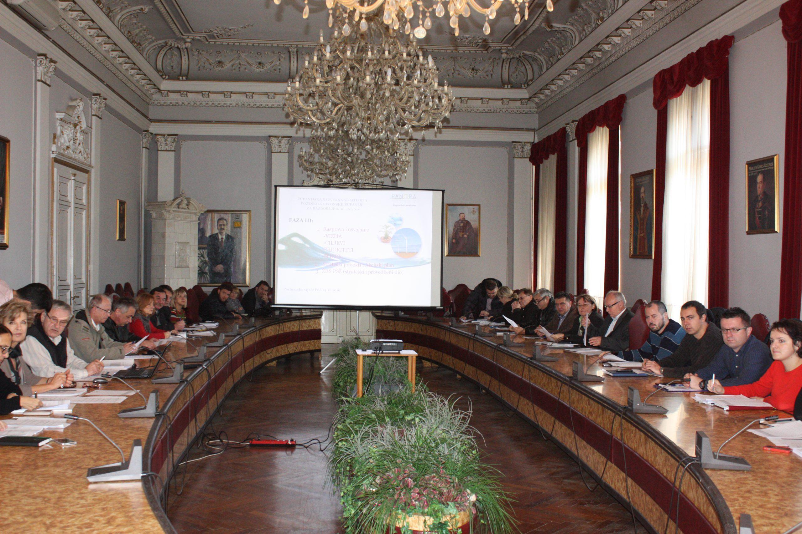 Izrada Županijske razvojne strategije Požeško-slavonske županije 2016-2020. privodi se kraju