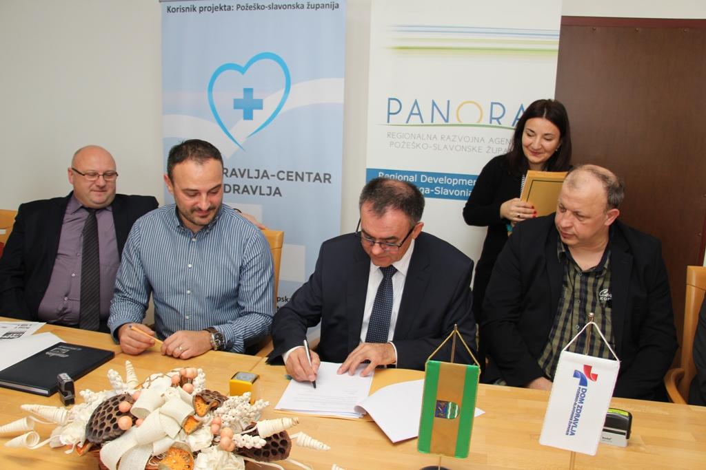 """Potpisani ugovori za izvođenje radova na projektu """"Dom zdravlja-centar zdravlja"""""""