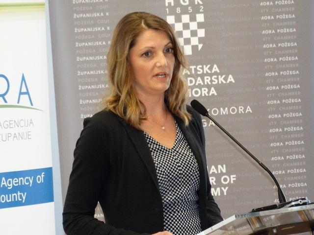 DIREKTORICA REGIONALNE RAZVOJNE AGENCIJE POŽEŠKO-SLAVONSKE ŽUPANIJE PANORA SENKA HORVAT