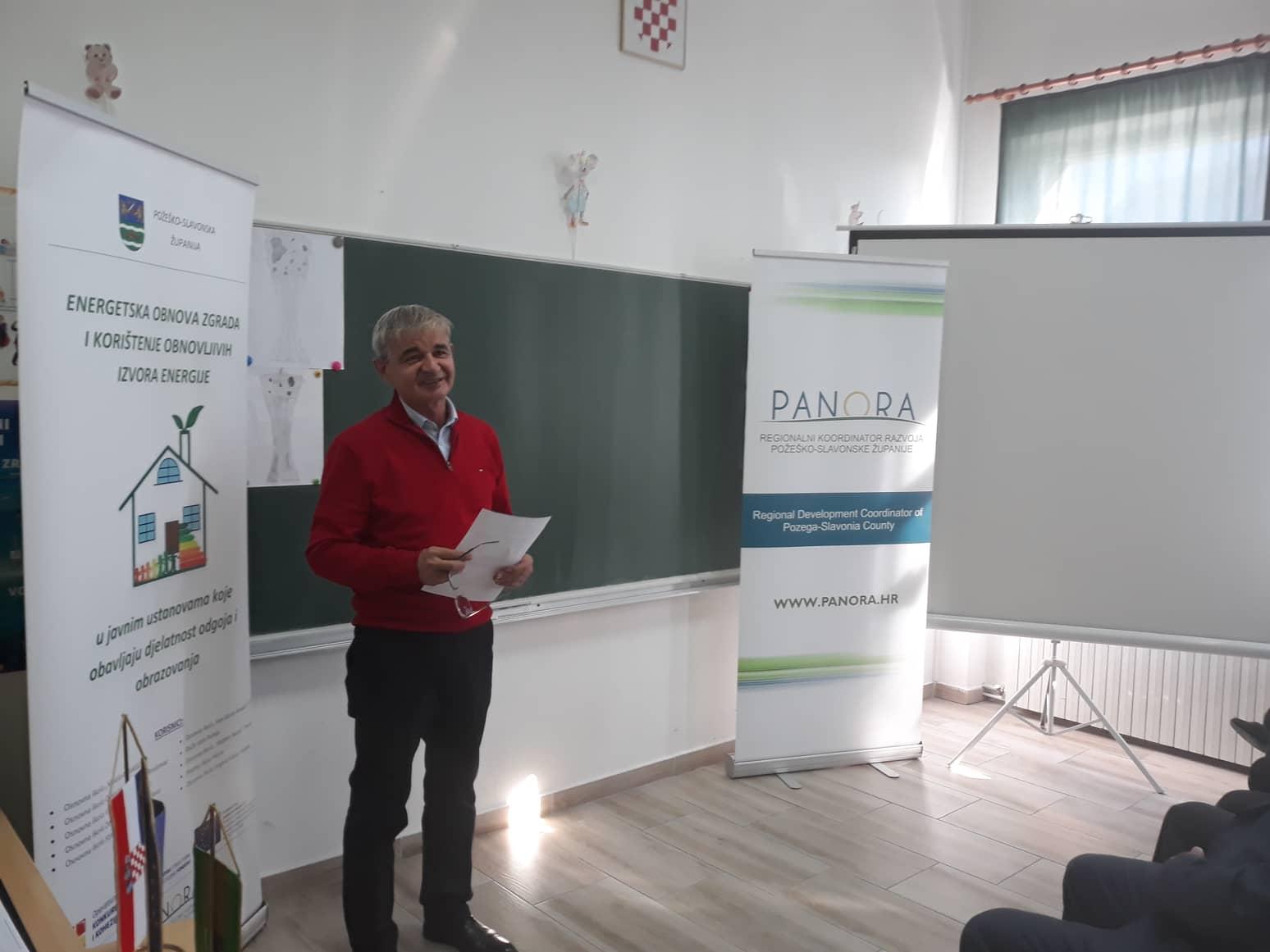 Završna konferencija projekta Energetska obnova zgrade Područne škole Skenderovci, Osnovne škole Dragutina Lermana Brestovac