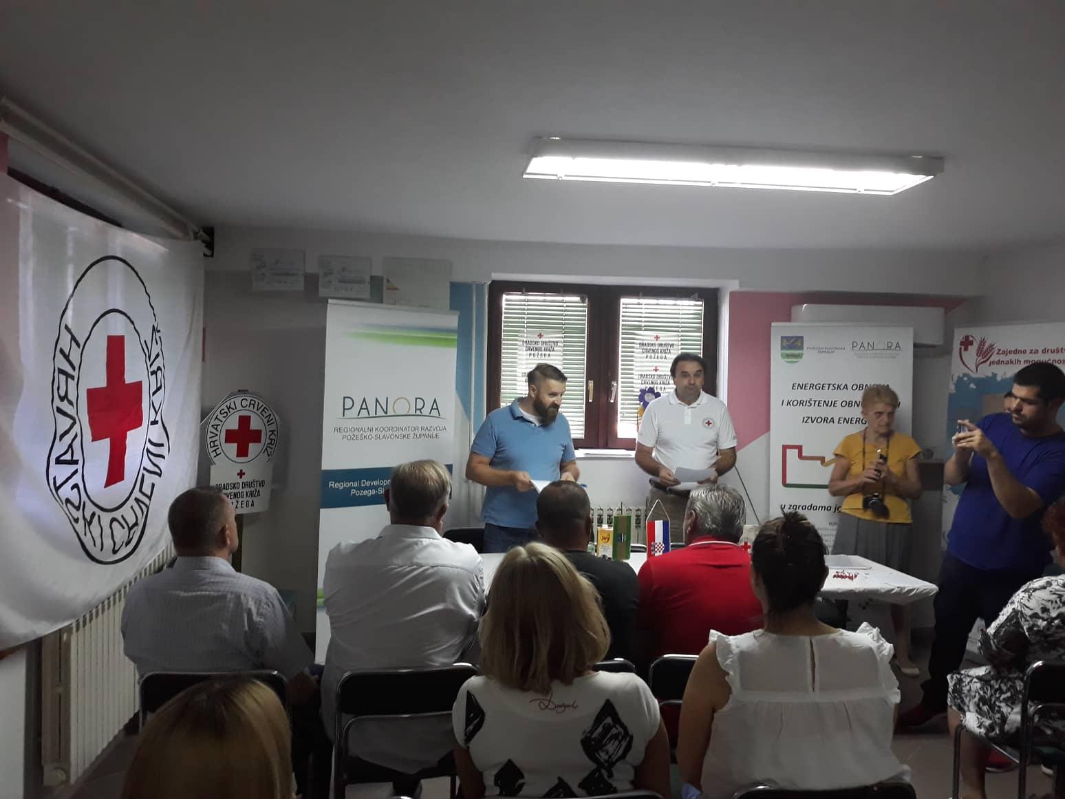 Održana početna konferencija projekta energetske obnove zgrade Gradskog društva Crvenog križa Požega