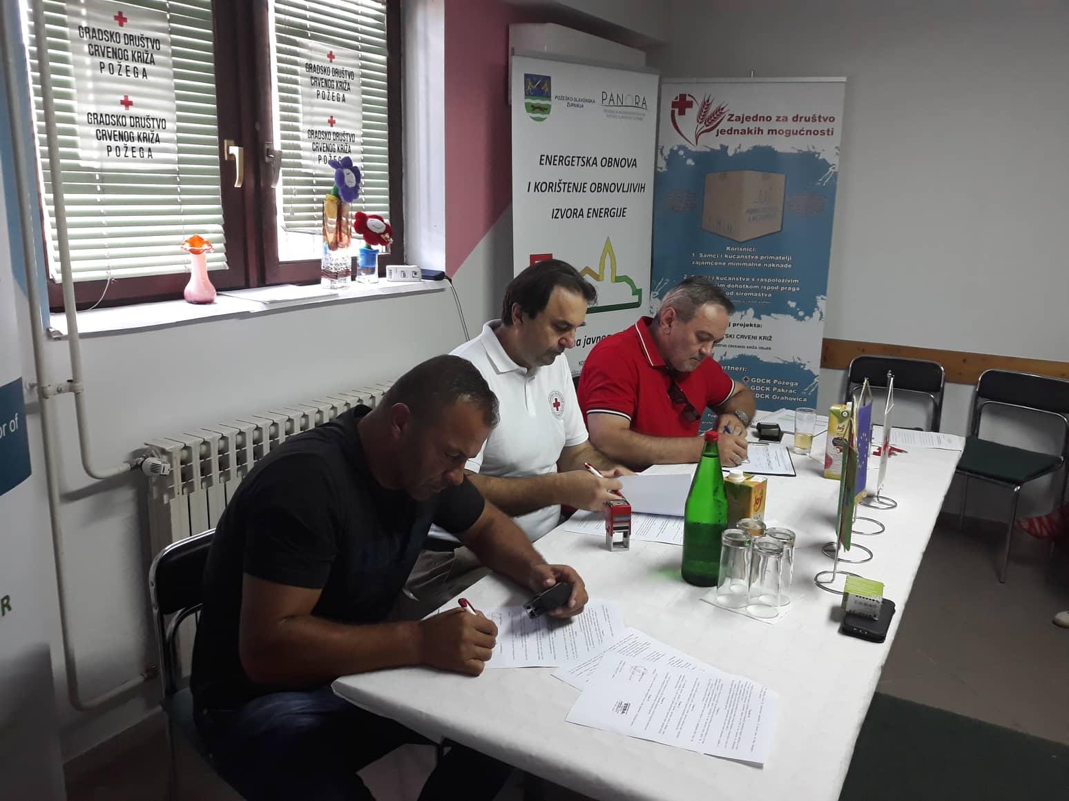Potpisivanje ugovora o izvođenju radova i ugovora o stručnom nadzoru građenja