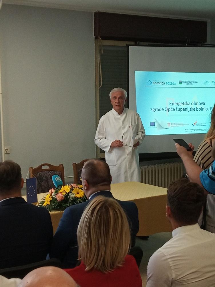 Ravnatelj Opće županijske bolnice, Željko Glavić