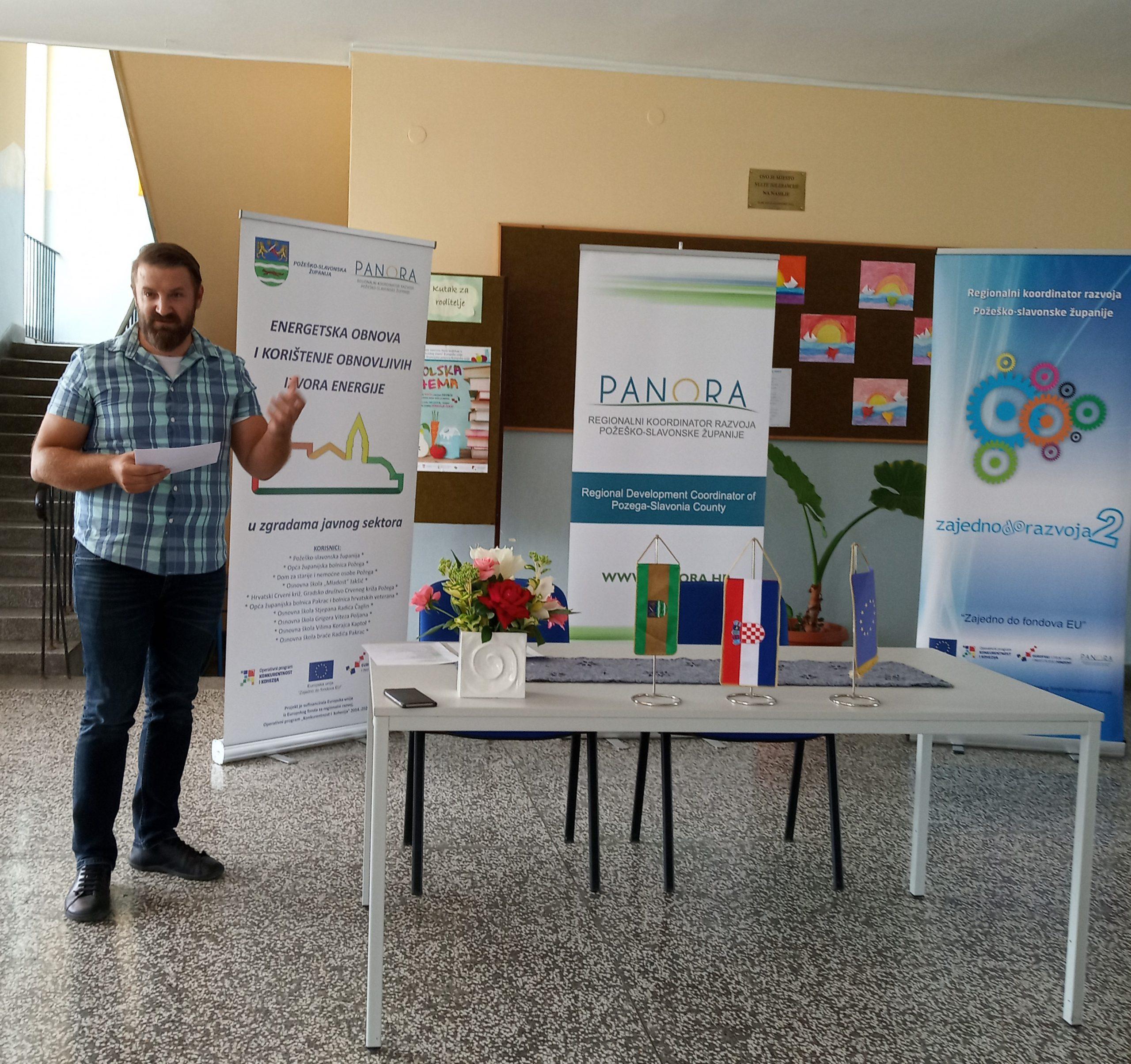 Početna konferencija projekta energetska obnova zgrade Osnovne škole Grigora Viteza Poljana