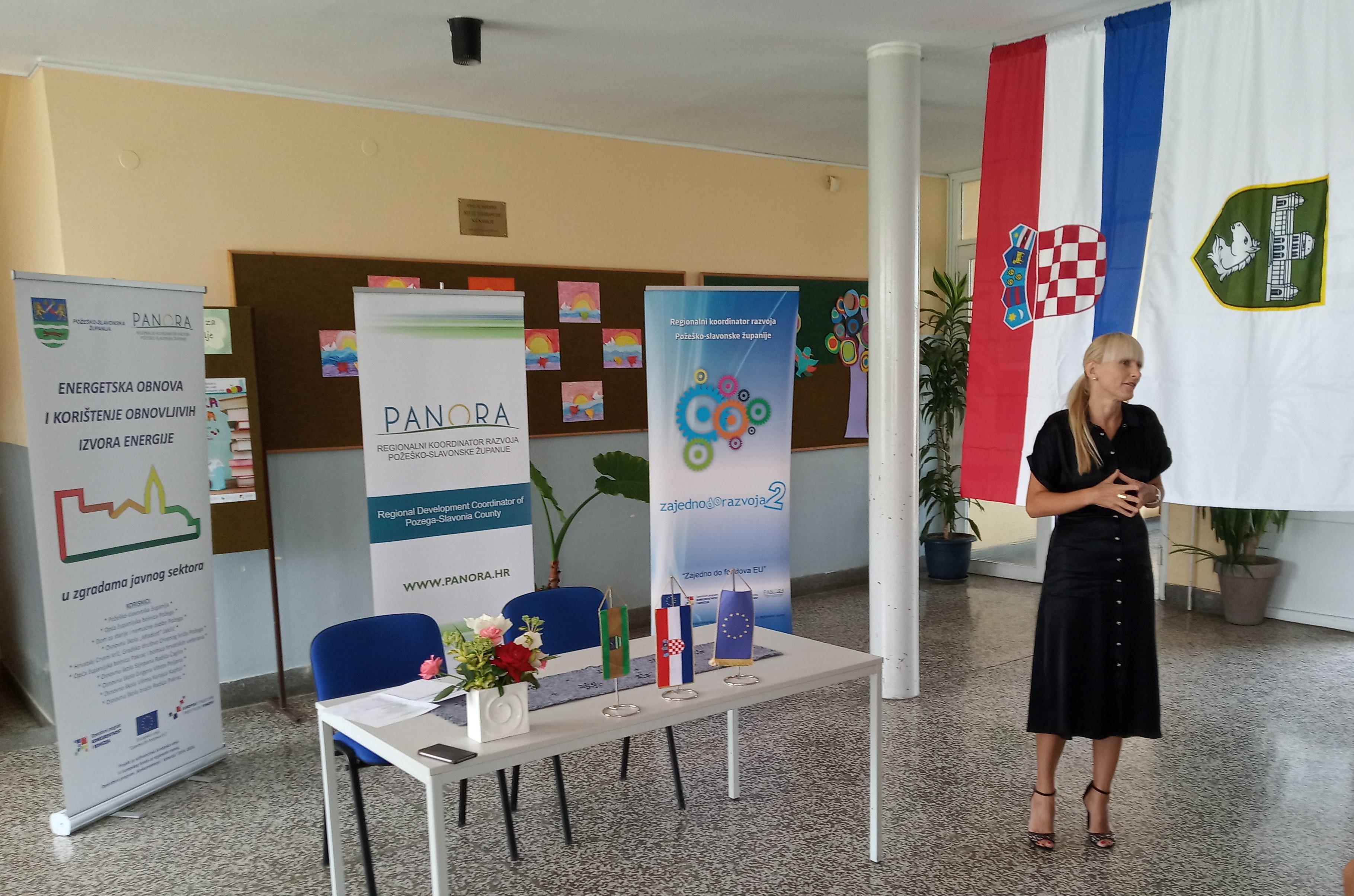 Pročelnica Upravnog odjela Požeško-slavonske županije, Sandra Sekulić Pojer