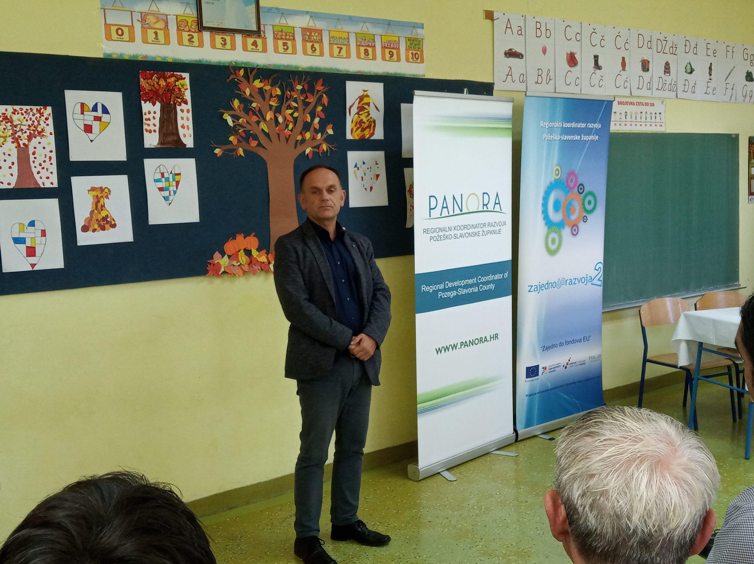 "Početna konferencija projekta ""Energetska obnova zgrade Područne škole Podgorje"""