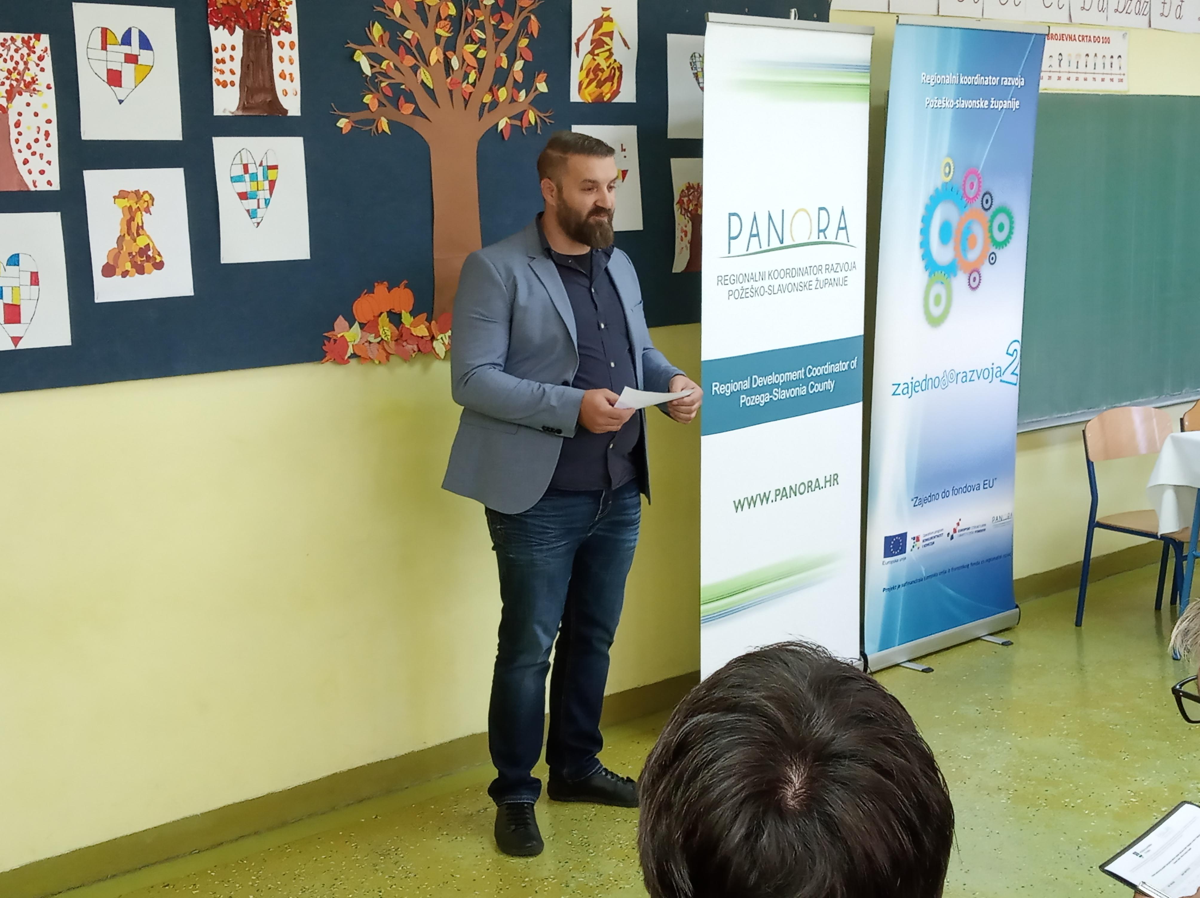 Pomoćnik ravnateljice Regionalnog koordinatora razvoja Požeško-slavonske županije, Anton Devčić