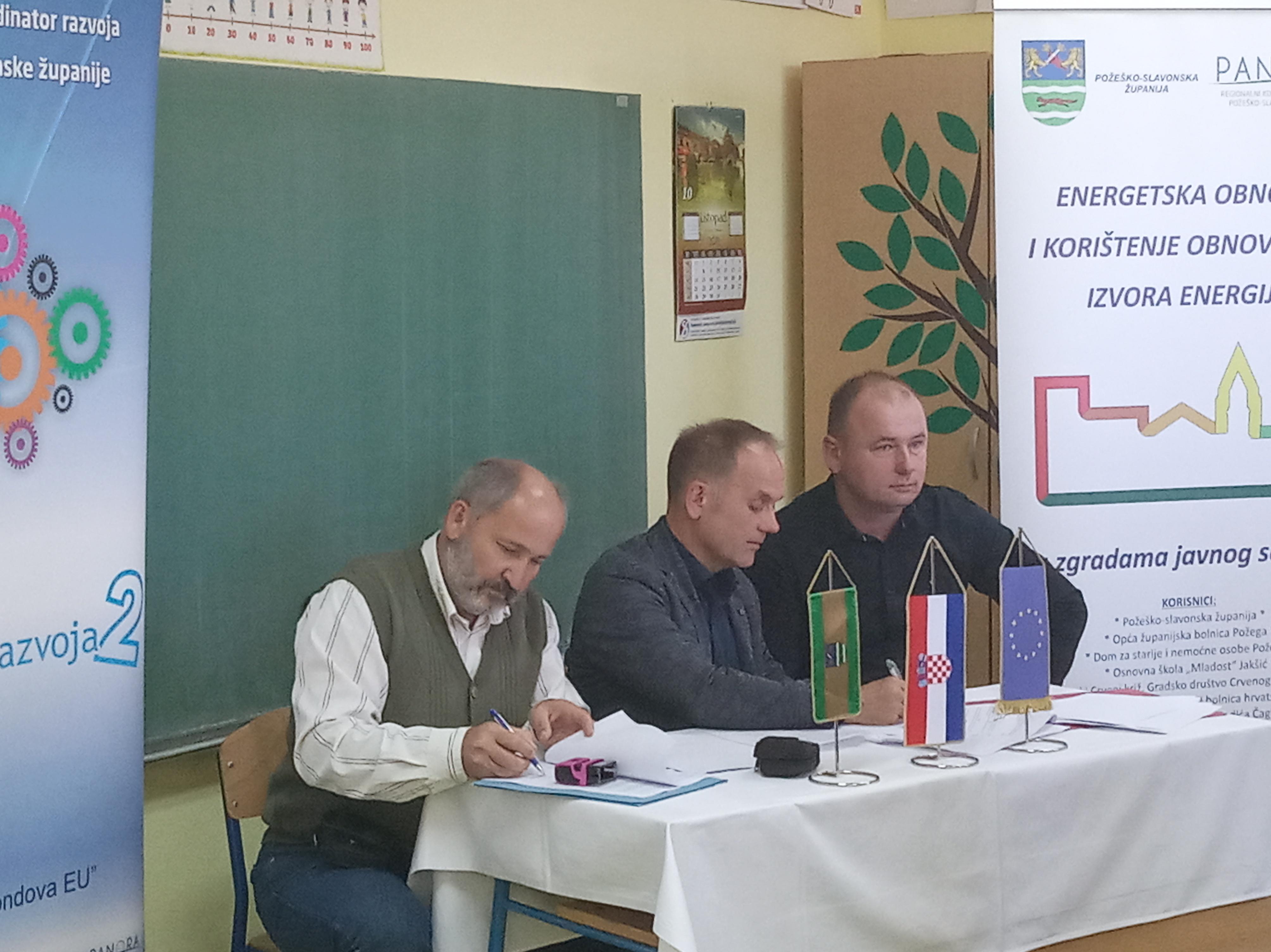 Potpisivanje ugovora o izvođenju radova i stručnom nadzoru građenja