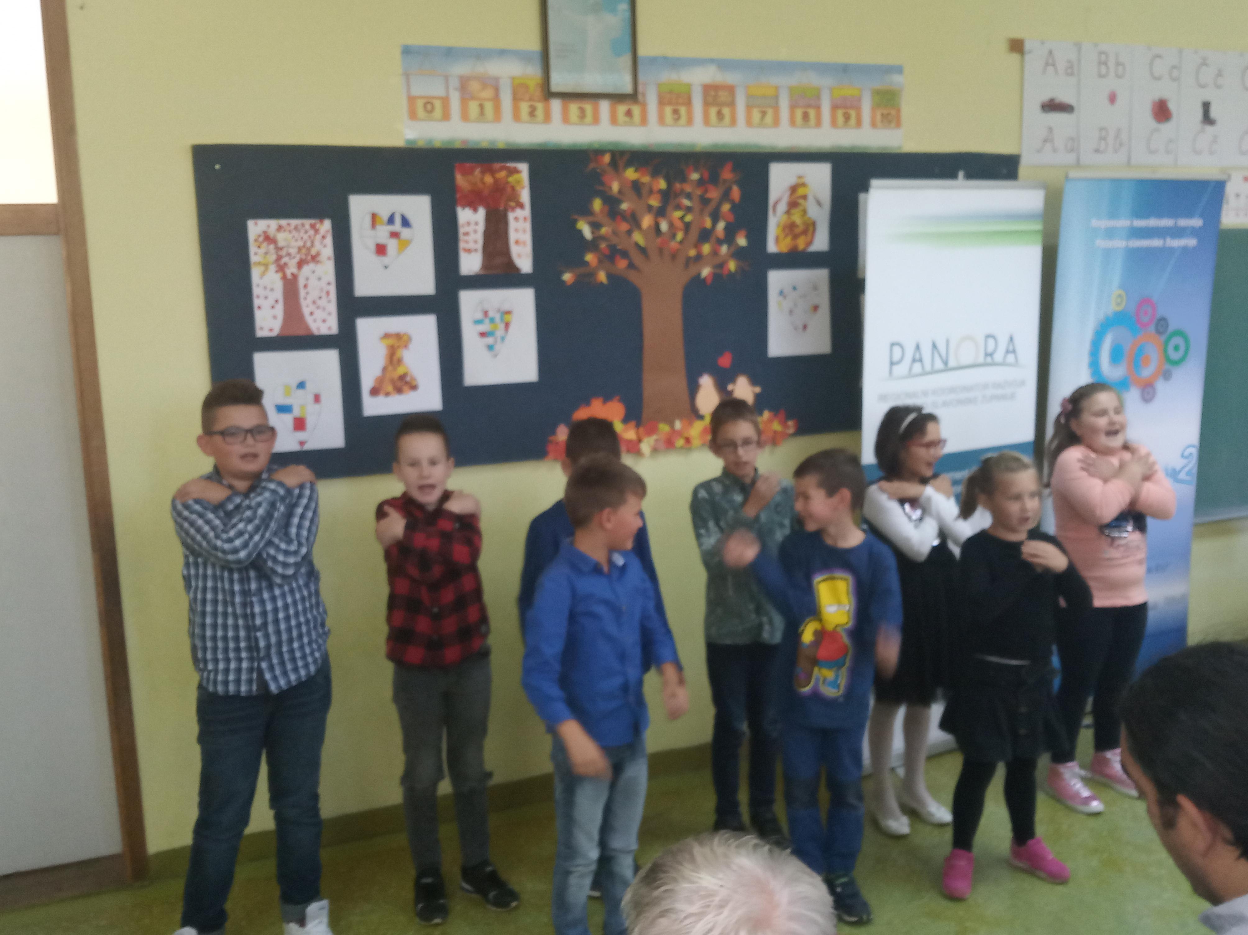 Prigodni program učenika