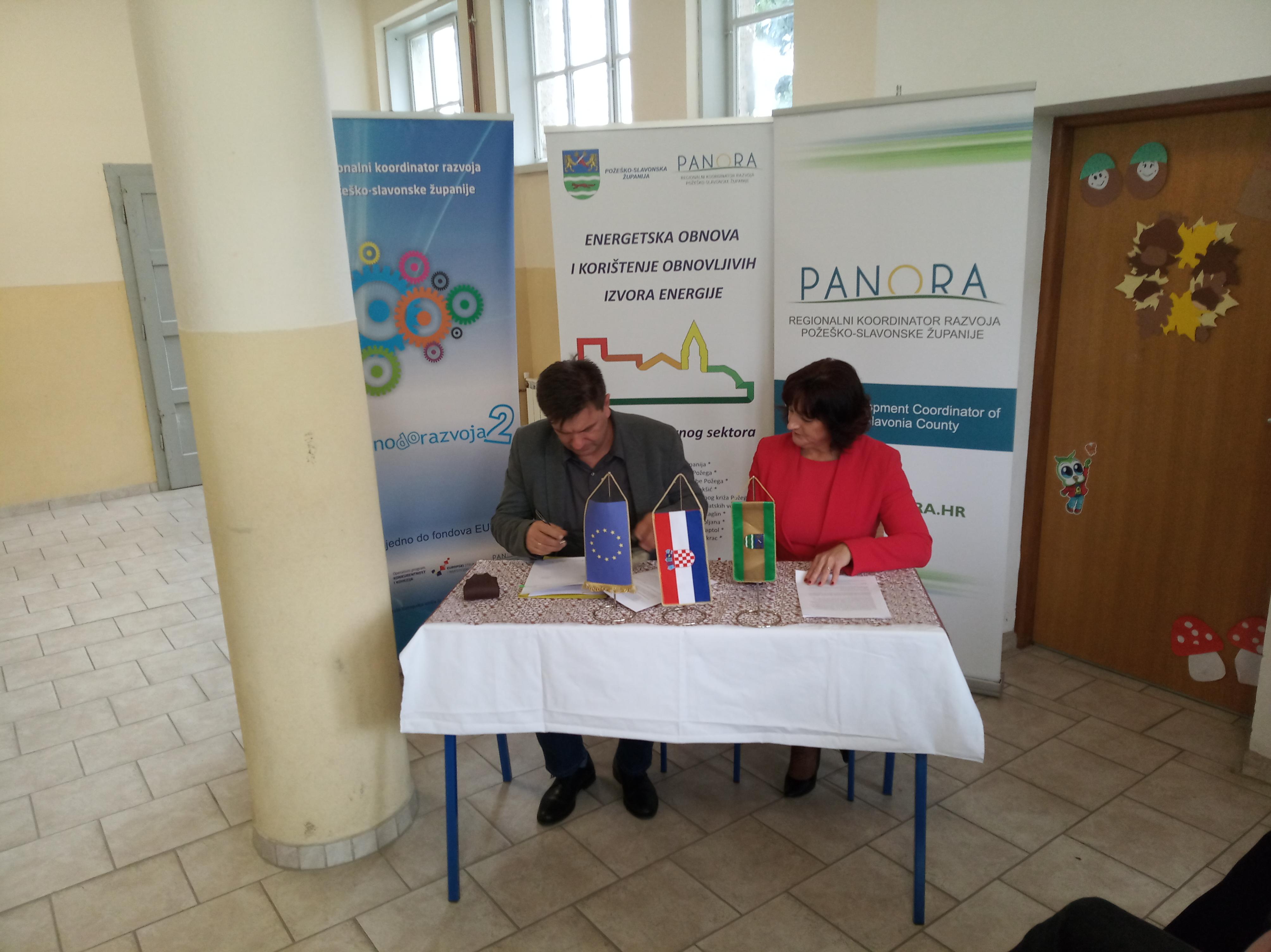 Svečano potpisivanje ugovora o izvođenju radova