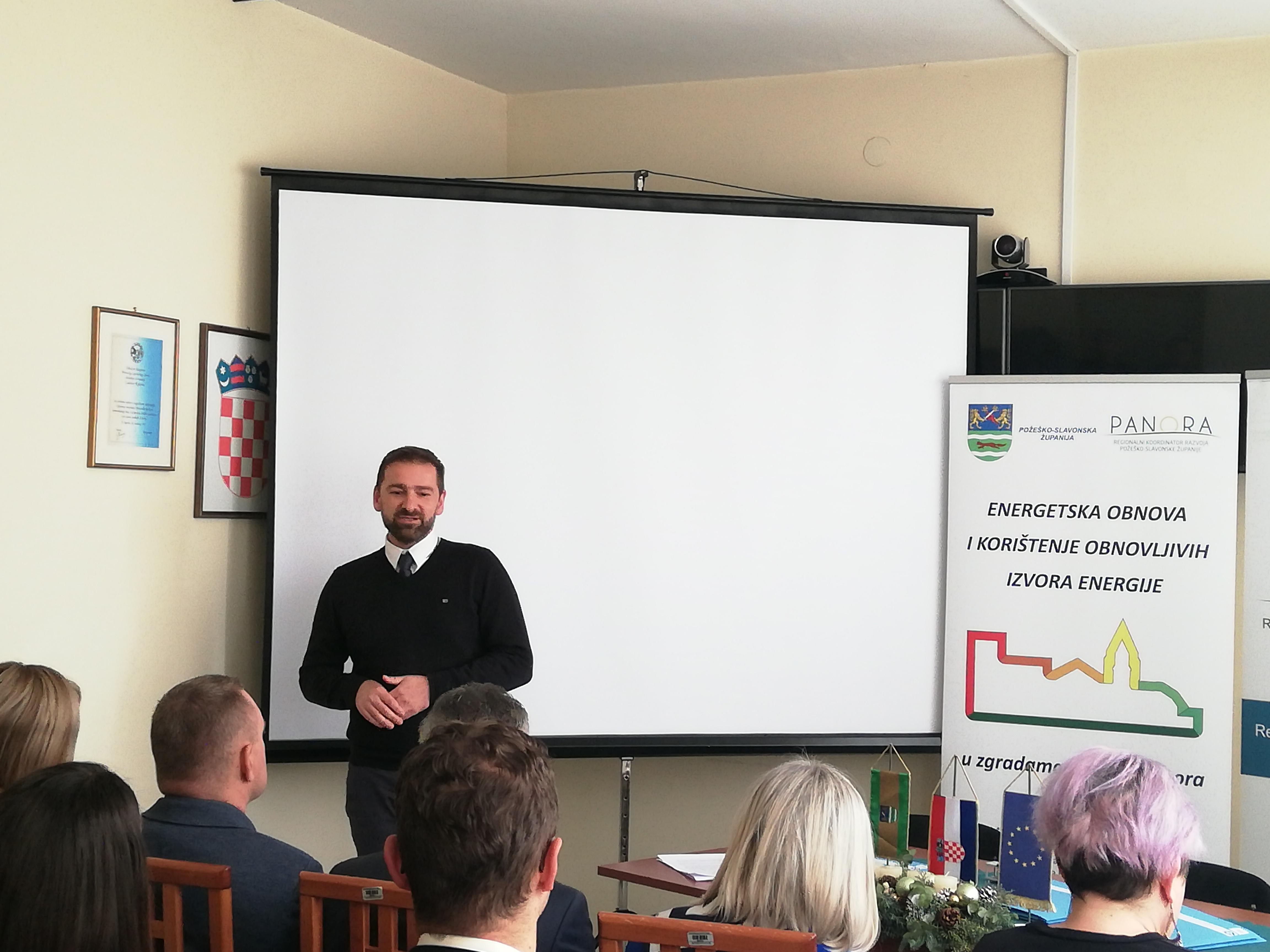 Predstavnik Fonda za zaštitu okoliša i energetsku učinkovitost, Tomislav Ilić