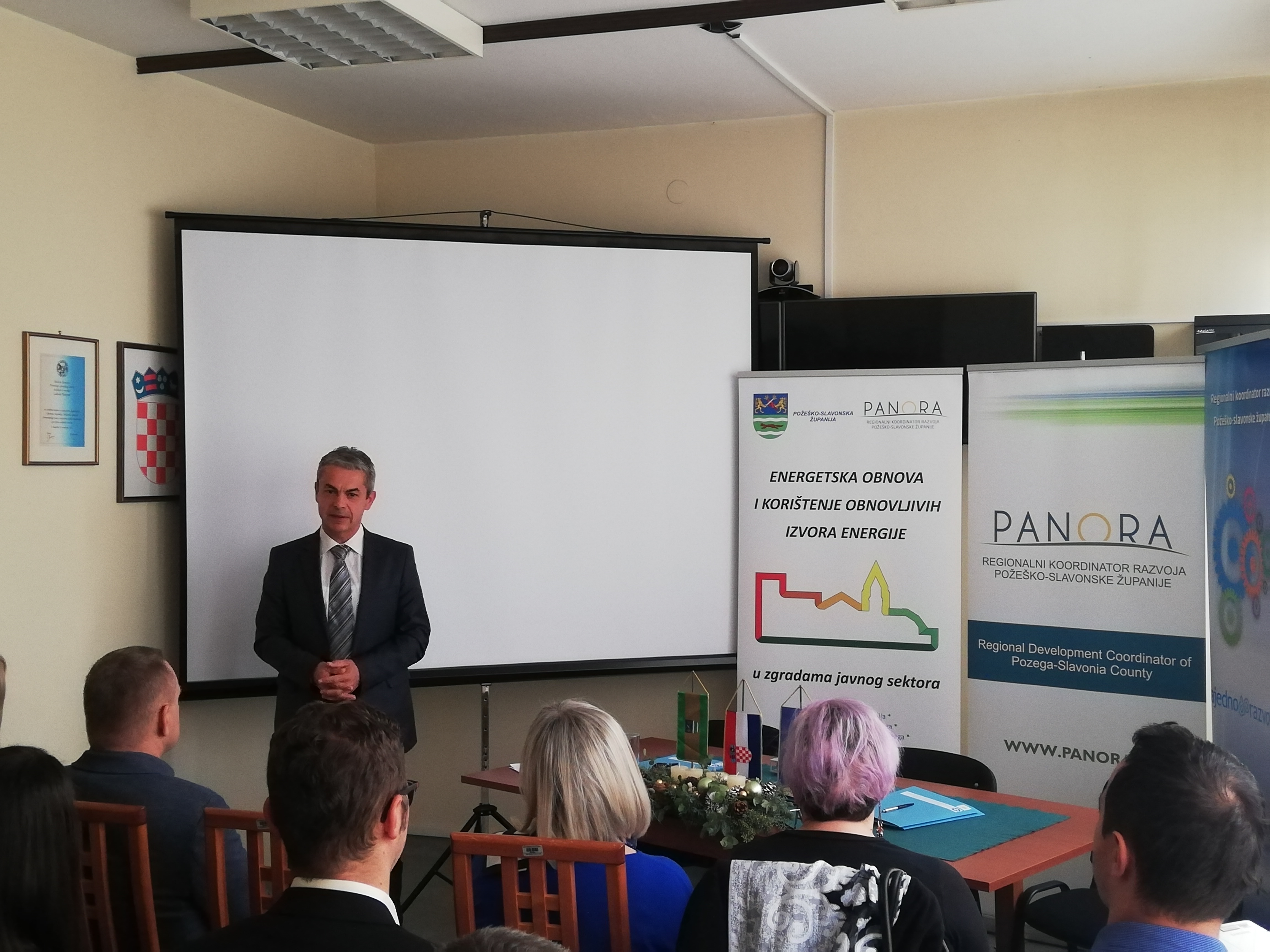 Pomoćnik ministra regionalnoga razvoja i fondova EU, Davor Huška