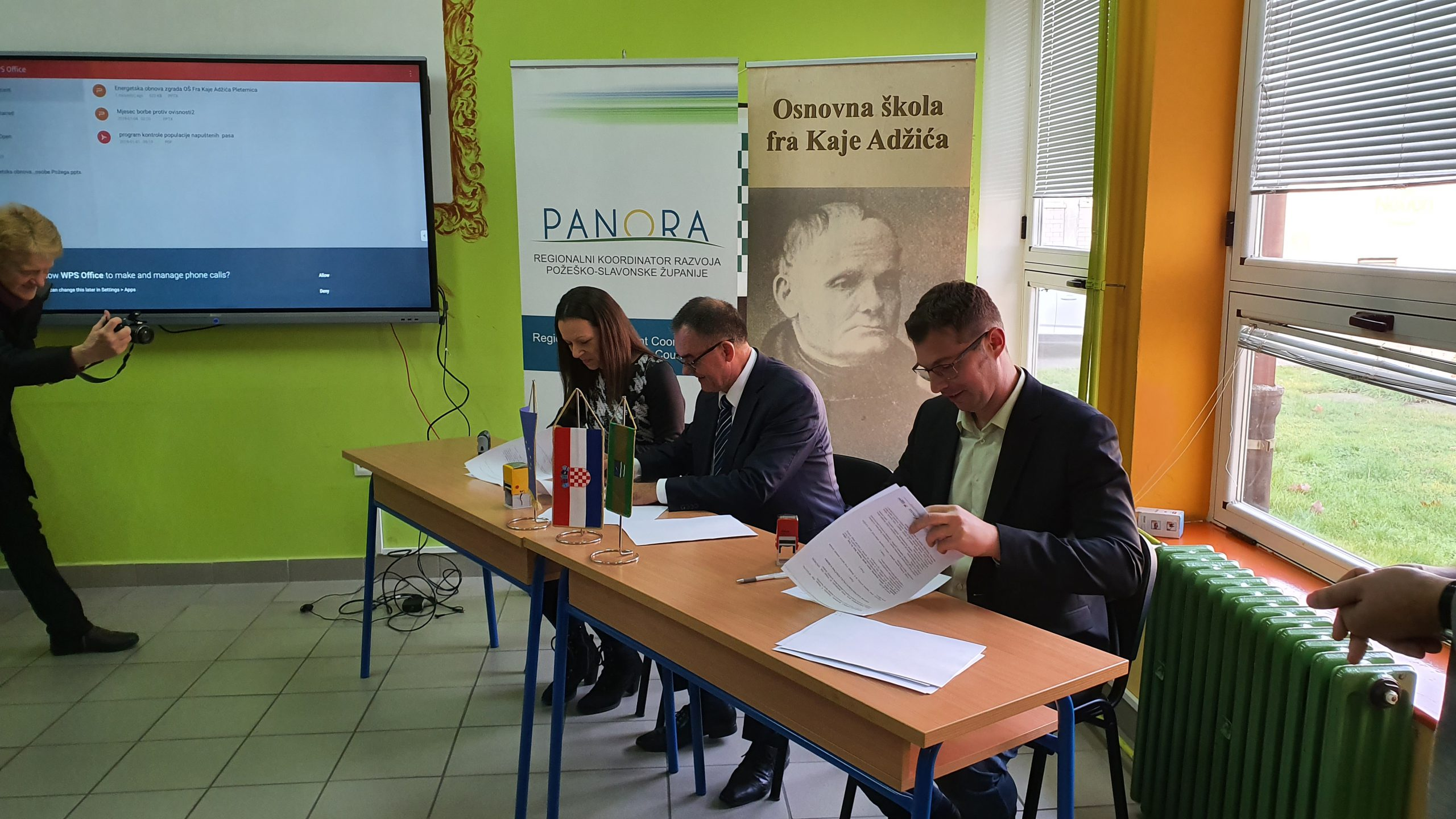 Održana početna konferencija energetske obnove zgrade Osnovne škole fra Kaje Adžića Pleternica