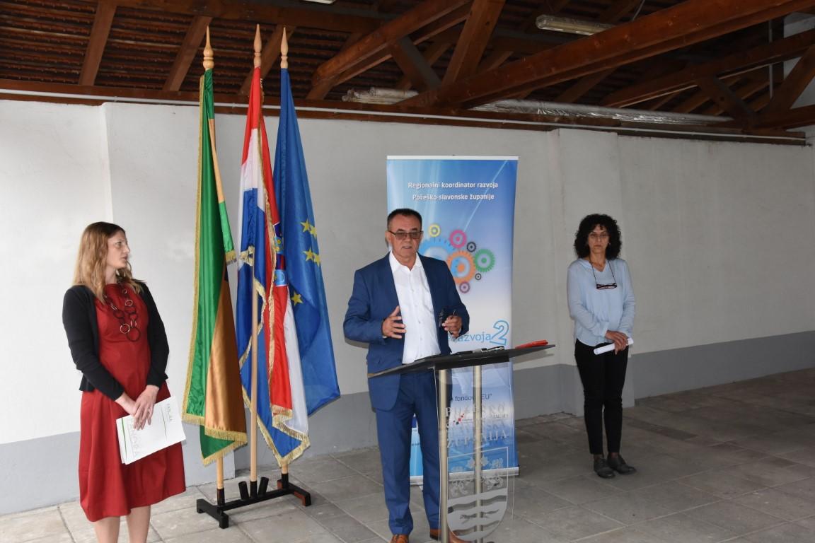 """Ugovoren projekt """"Uspostava regionalnog centra kompetentnosti Panonika"""" u vrijednosti gotovo 50 mil. kuna"""